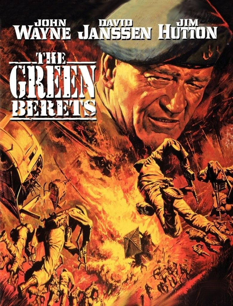 The Green Berets (film) movie poster