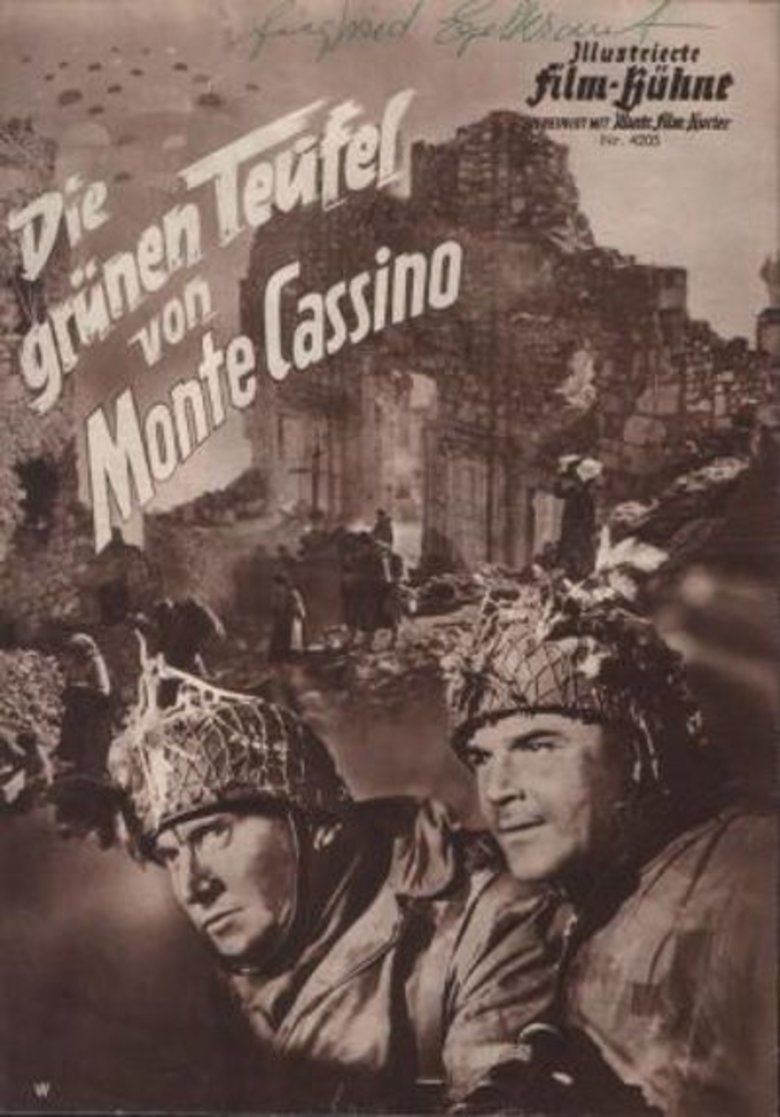 The Green Devils of Monte Cassino movie poster