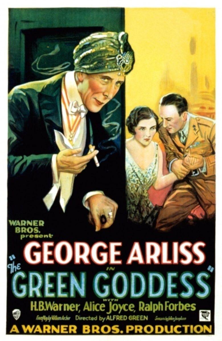 The Green Goddess (1930 film) movie poster