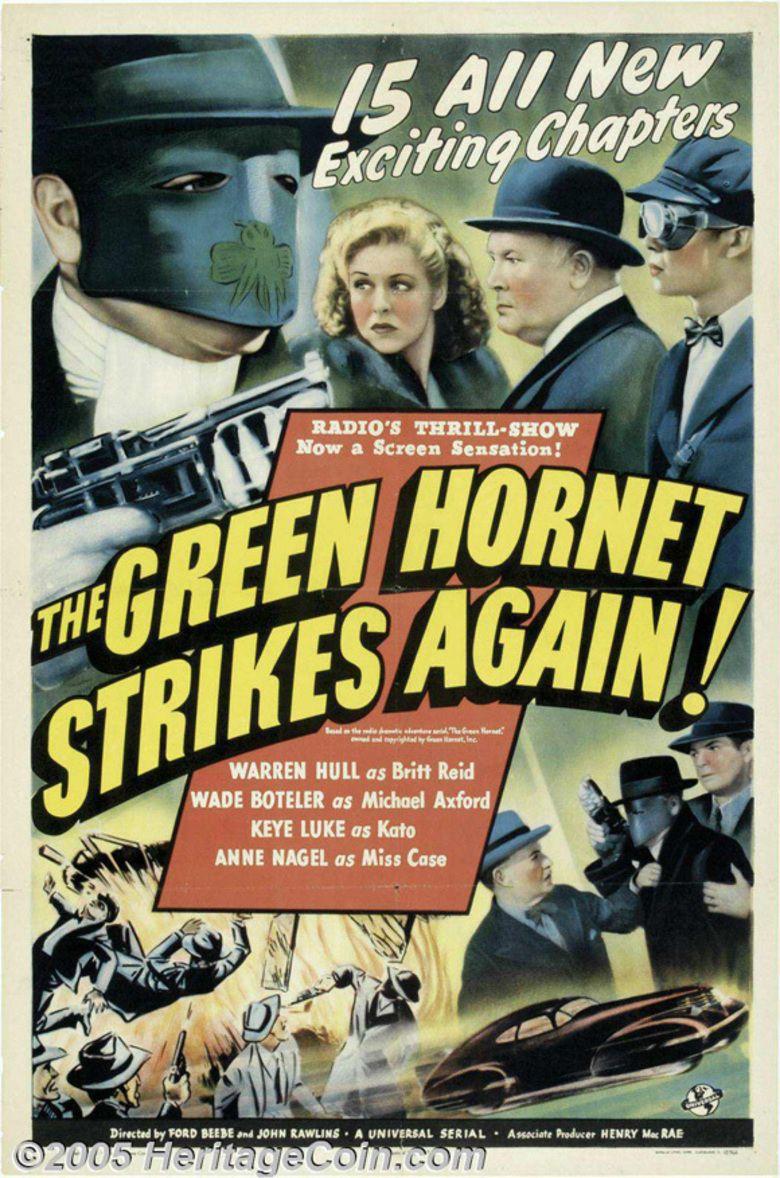 The Green Hornet Strikes Again! movie poster