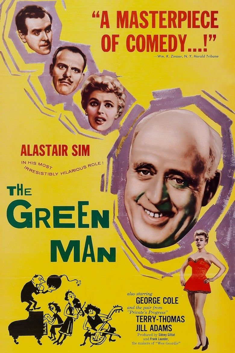 The Green Man (film) movie poster