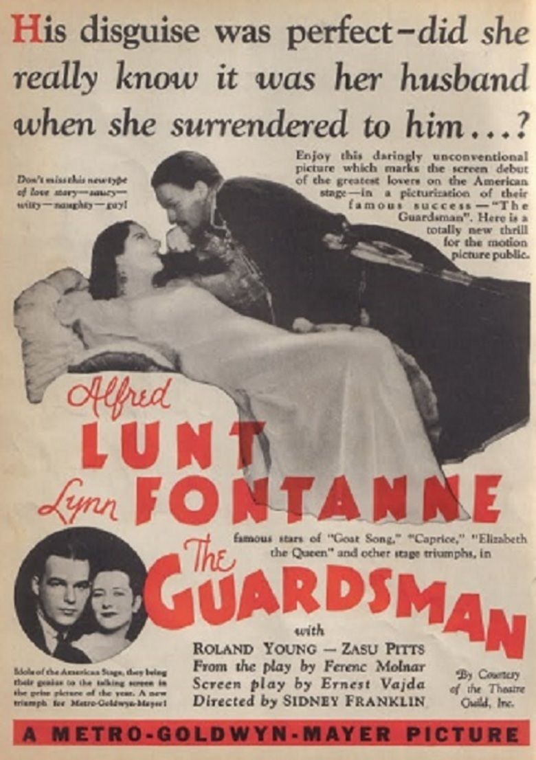 The Guardsman movie poster