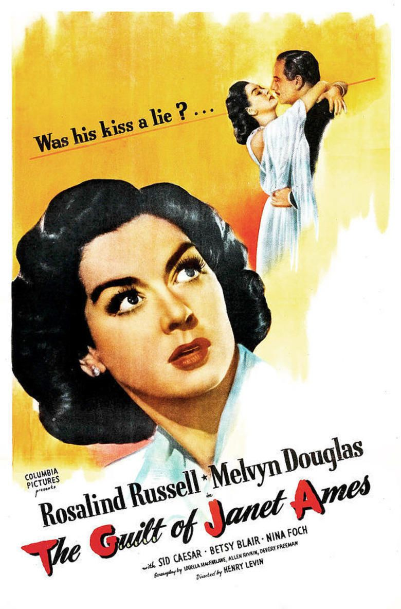 The Guilt of Janet Ames movie poster