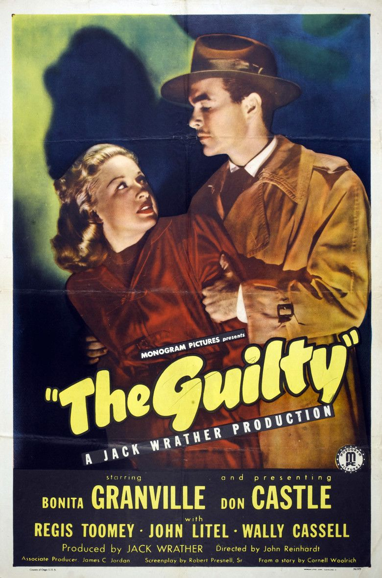 The Guilty (1947 film) movie poster