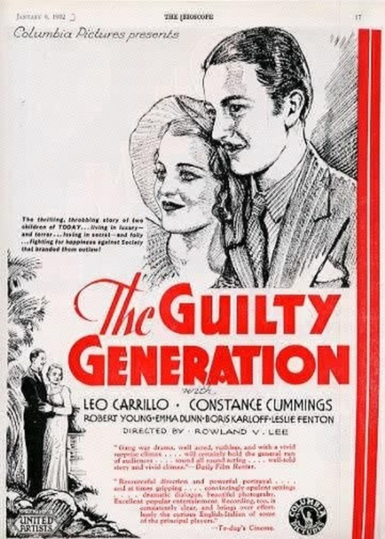 The Guilty Generation movie poster