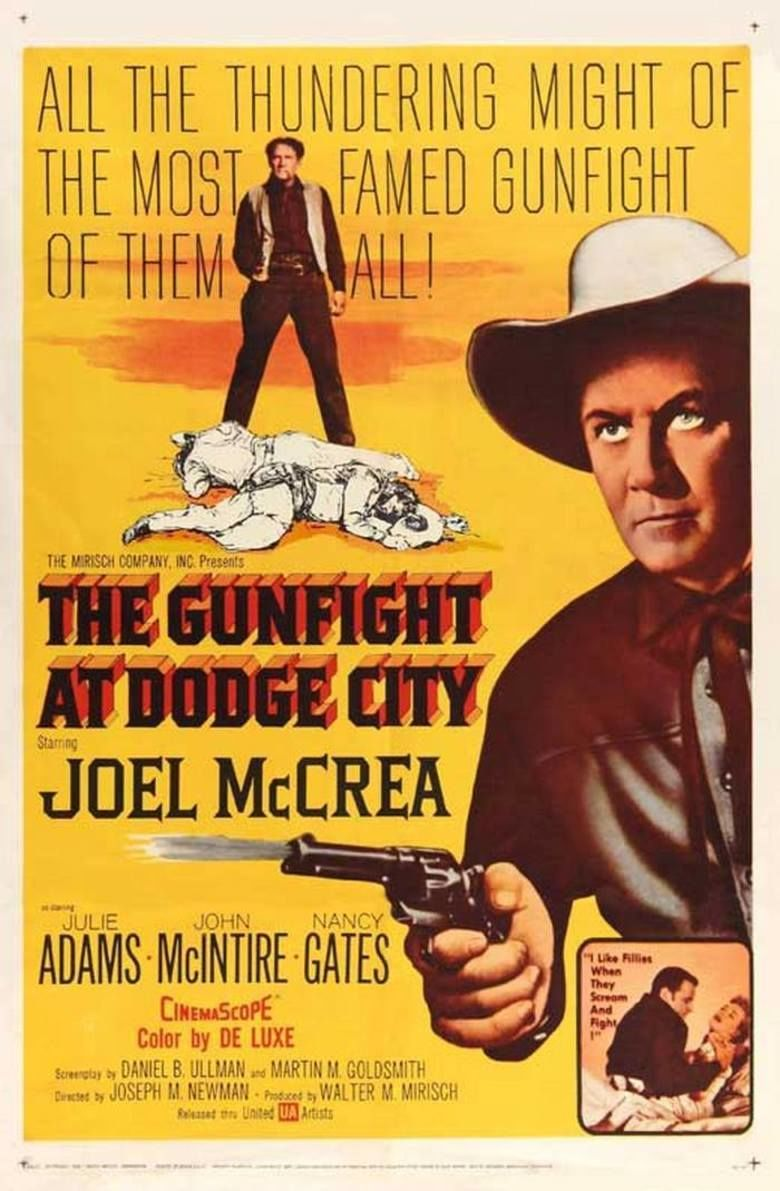 The Gunfight at Dodge City movie poster