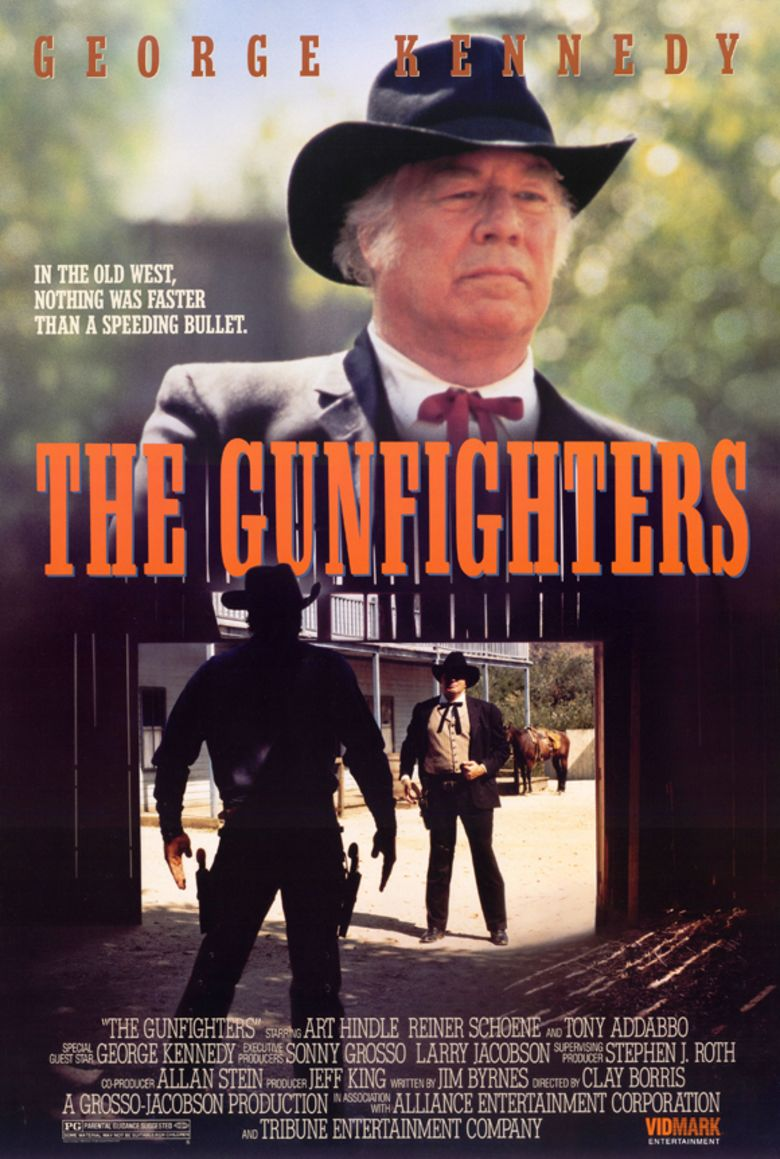The Gunfighters (1987 film) movie poster
