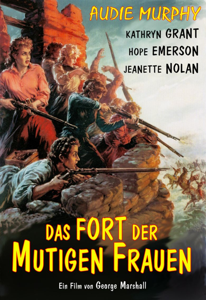 The Guns of Fort Petticoat movie poster