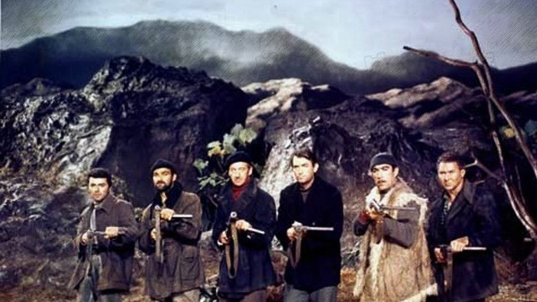 The Guns of Navarone (film) movie scenes
