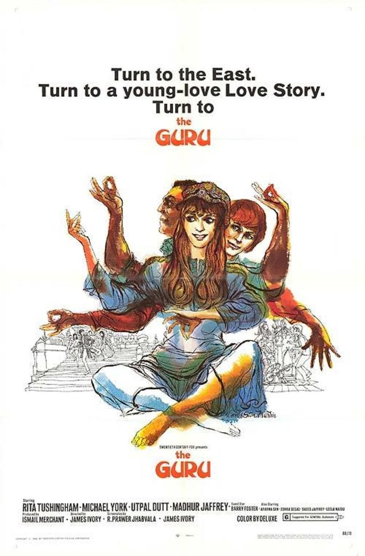The Guru (1969 film) movie poster