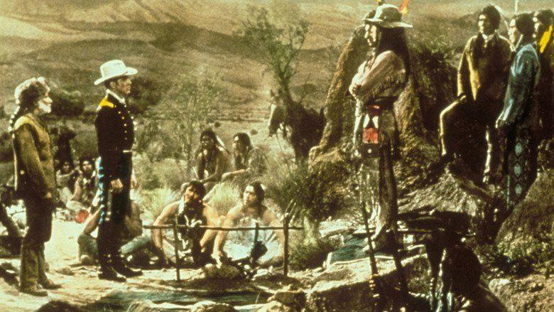 The Hallelujah Trail movie scenes