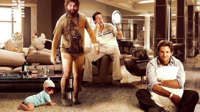The Hangover movie scenes
