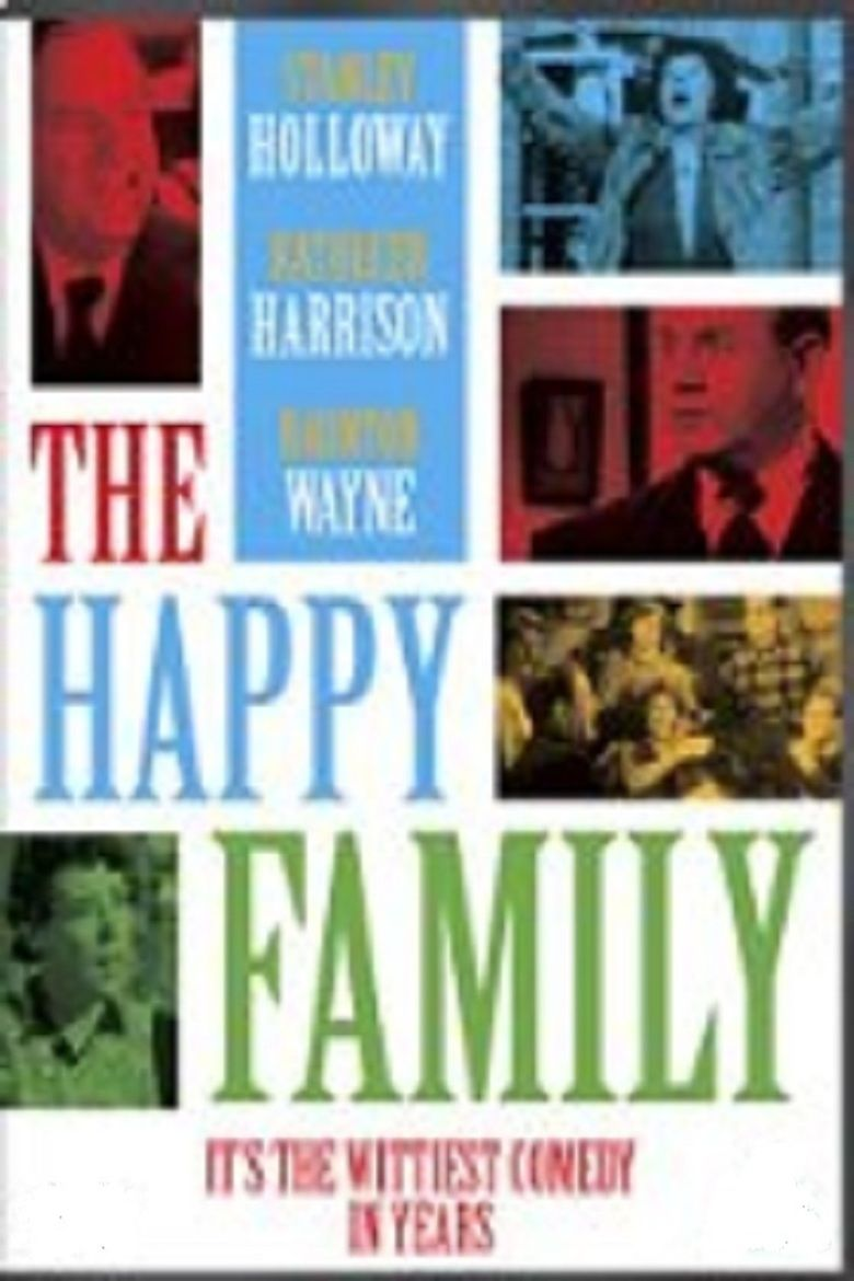 The Happy Family (1952 film) movie poster