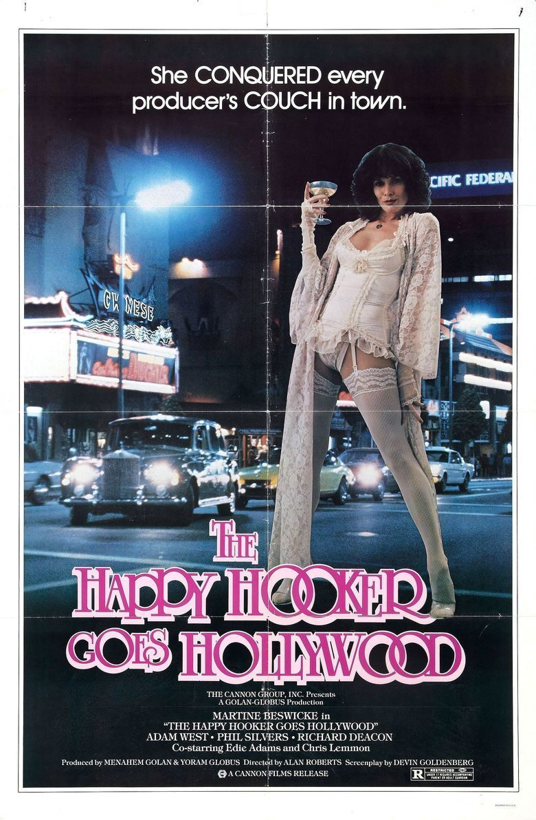 The Happy Hooker Goes Hollywood movie poster