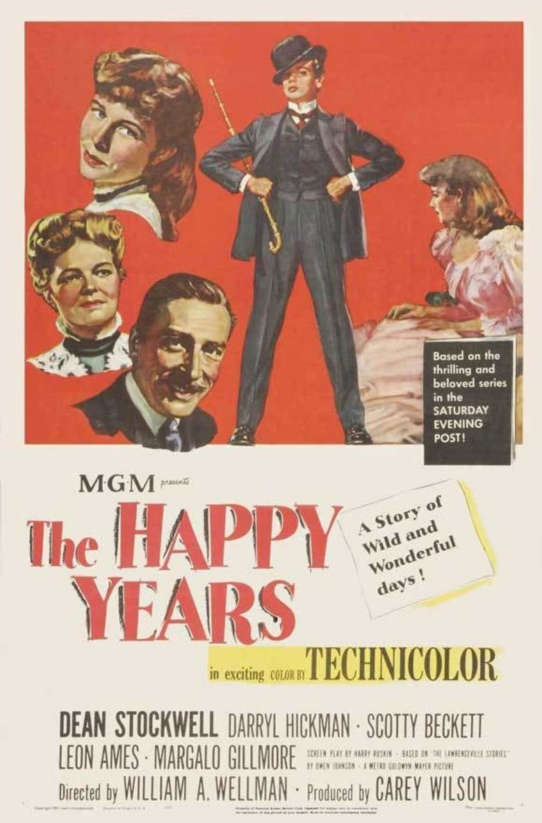 The Happy Years movie poster