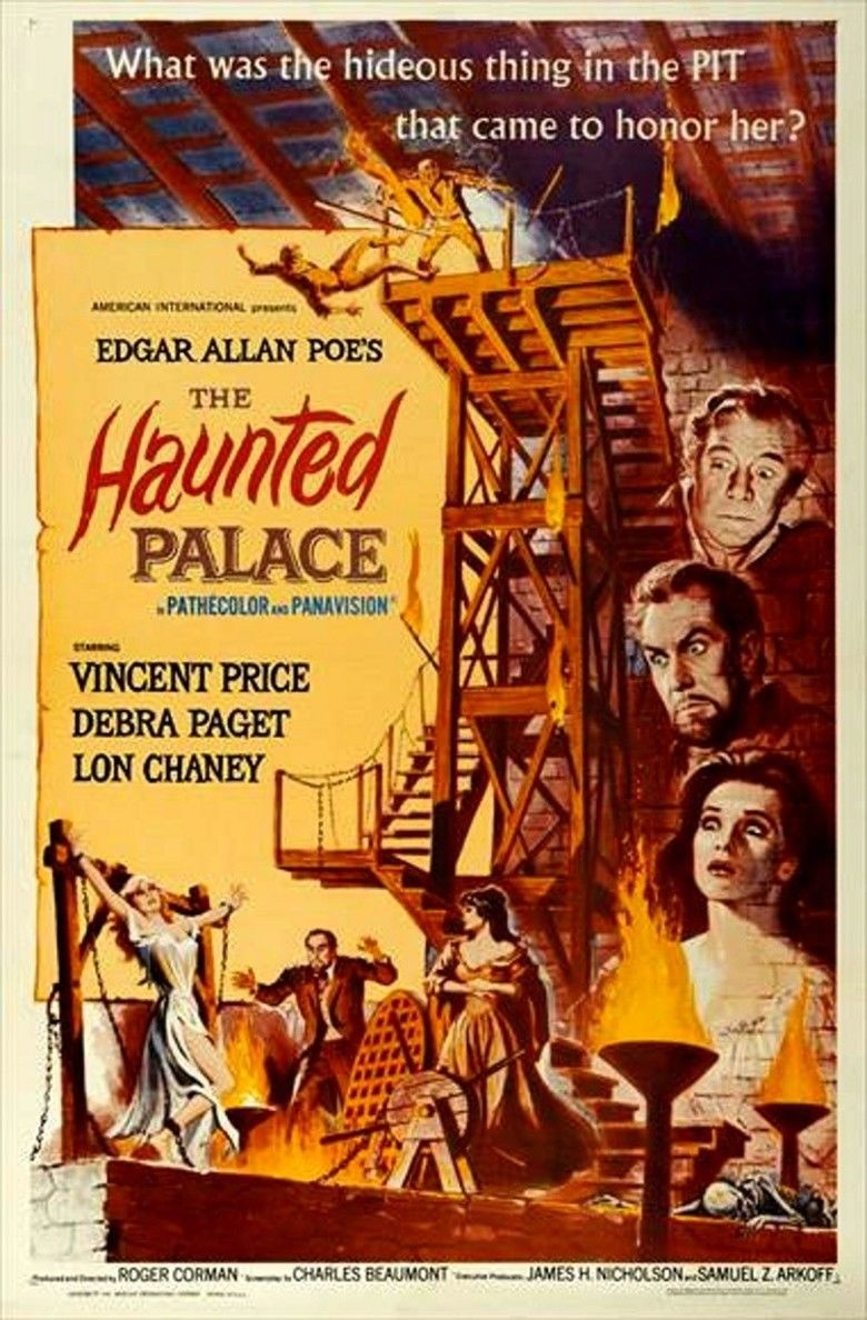The Haunted Palace movie poster