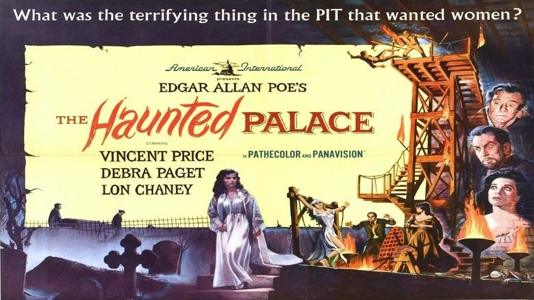 The Haunted Palace movie scenes