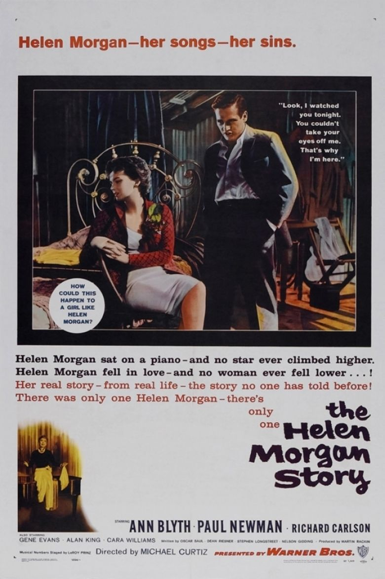 The Helen Morgan Story movie poster