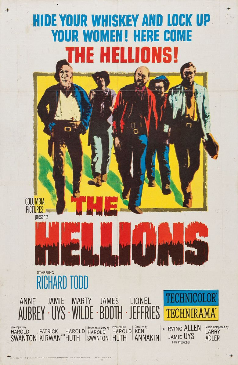 The Hellions (film) movie poster