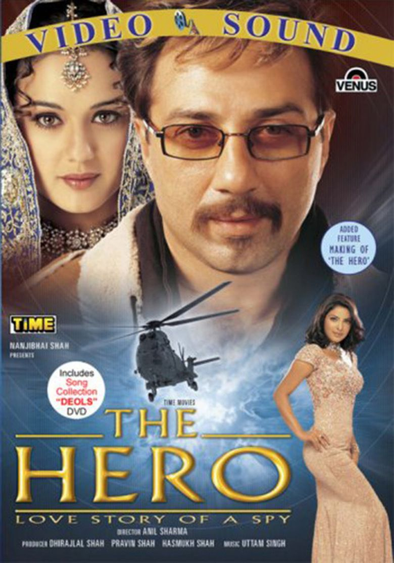 The Hero: Love Story of a Spy movie poster