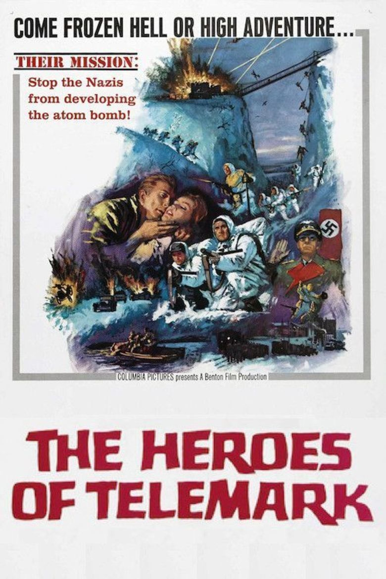 The Heroes of Telemark movie poster