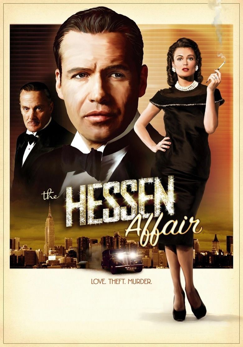 The Hessen Affair movie poster