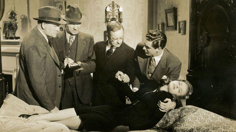 The Hidden Hand (1942 film) movie scenes