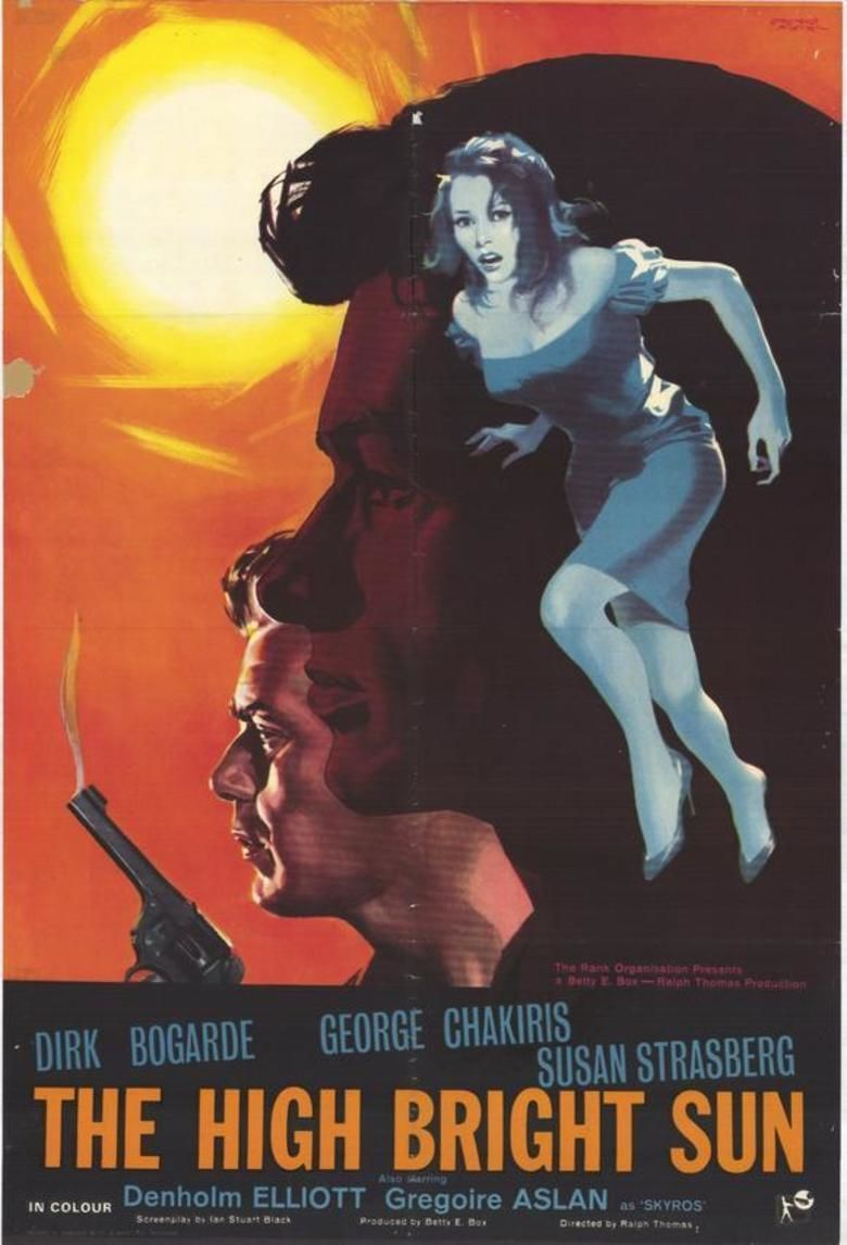 The High Bright Sun movie poster