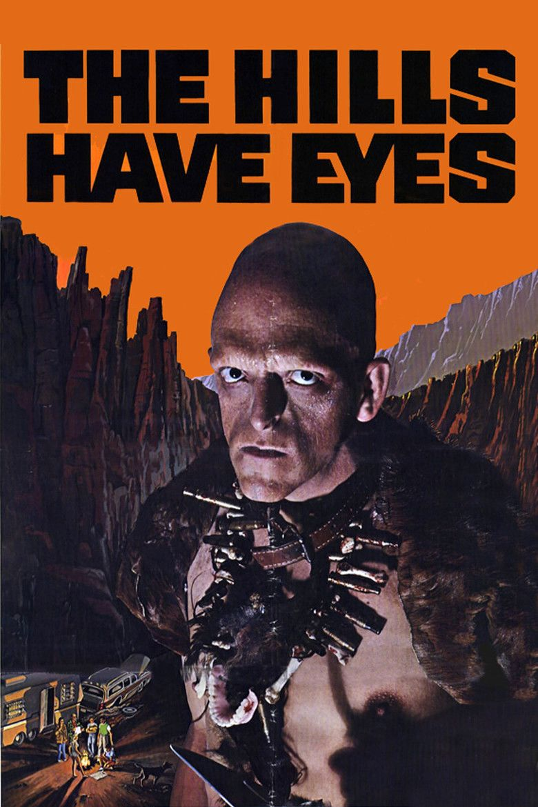 The Hills Have Eyes (1977 film) movie poster