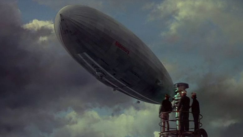 The Hindenburg (film) movie scenes