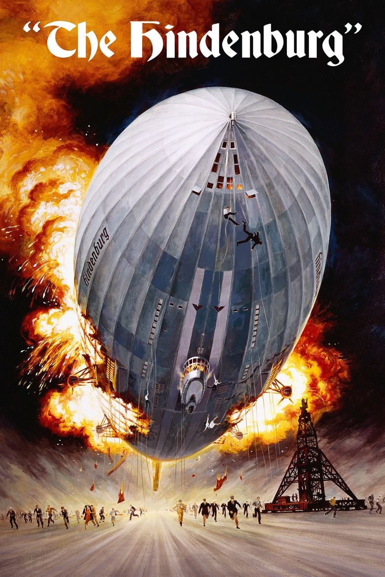 The Hindenburg (film) movie poster