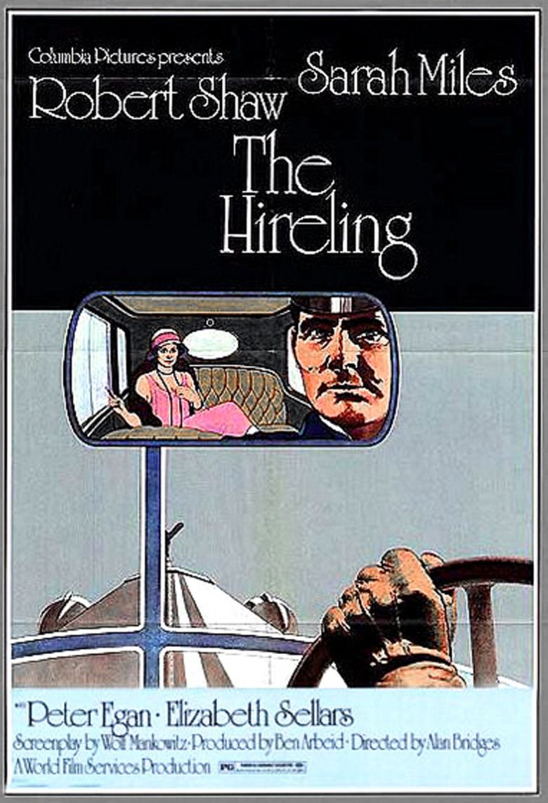 The Hireling movie poster