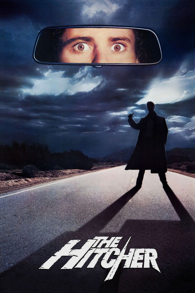 The Hitcher (1986 film) movie poster