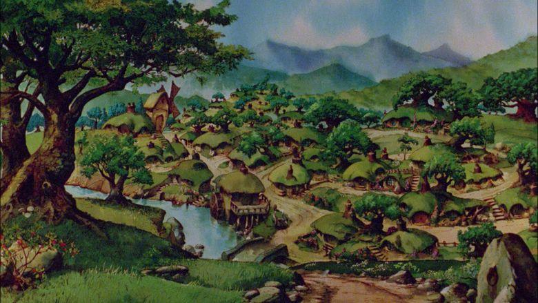 The Hobbit (1977 film) movie scenes
