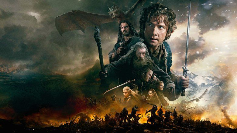 The Hobbit: The Battle of the Five Armies movie scenes