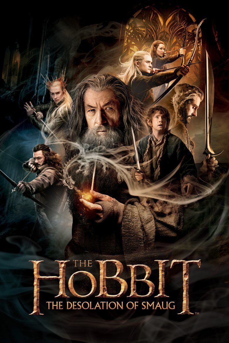 The Hobbit: The Desolation of Smaug movie poster