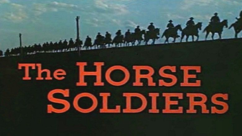 The Horse Soldiers movie scenes