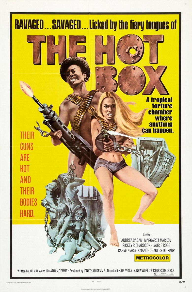 The Hot Box movie poster