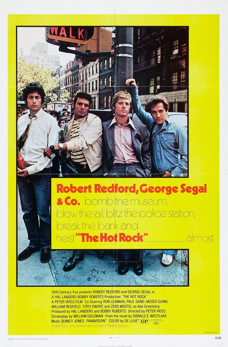 The Hot Rock (film) movie poster