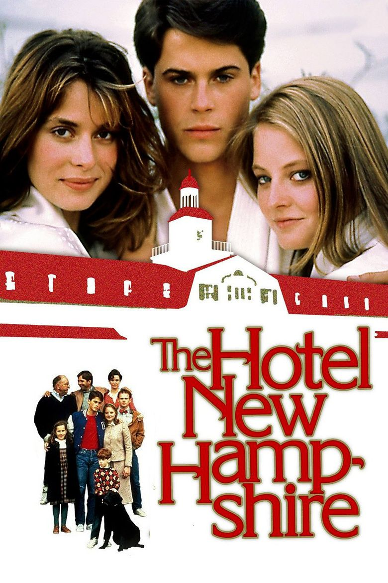 The Hotel New Hampshire (film) movie poster