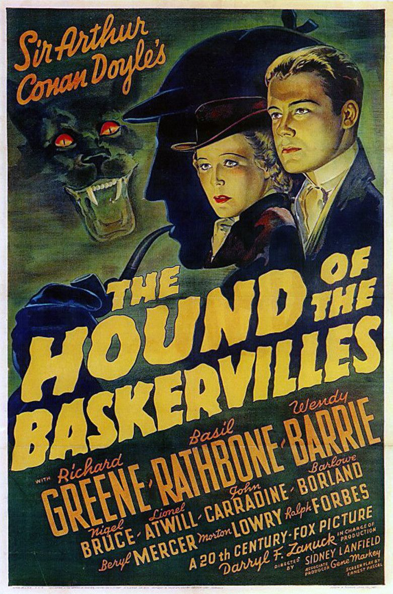 The Hound of the Baskervilles (1939 film) movie poster