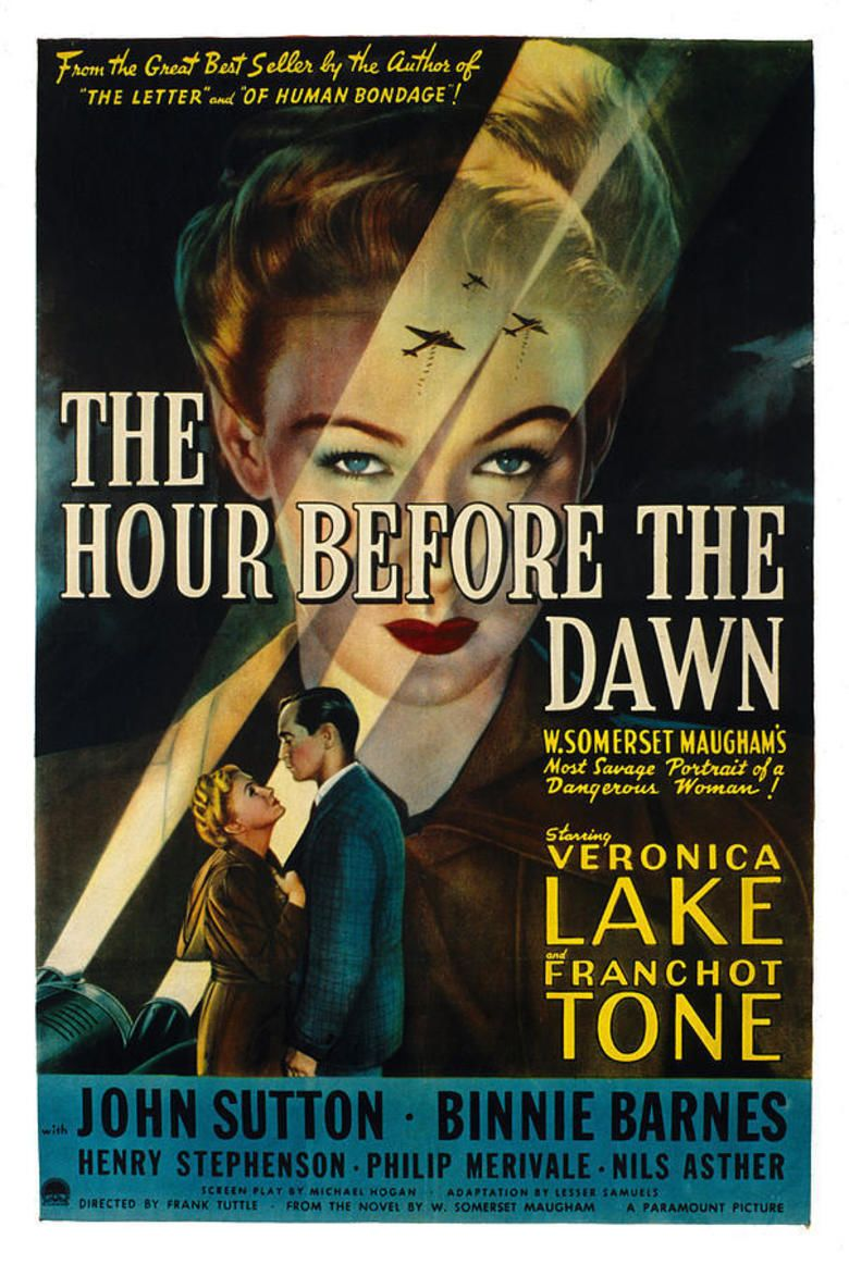 The Hour Before the Dawn movie poster