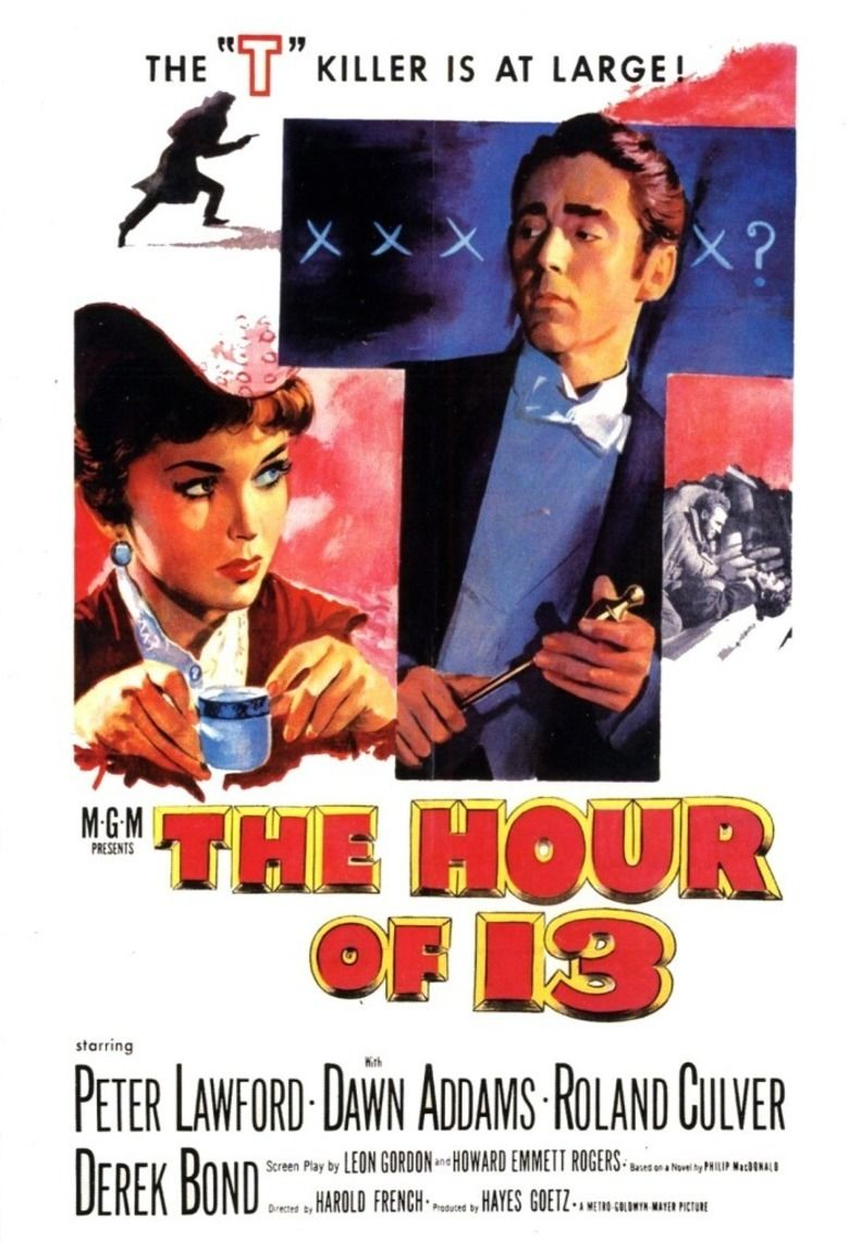 The Hour of 13 movie poster