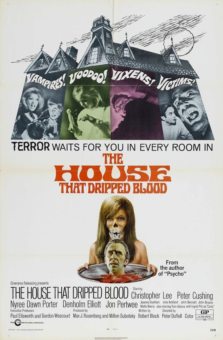The House That Dripped Blood movie poster