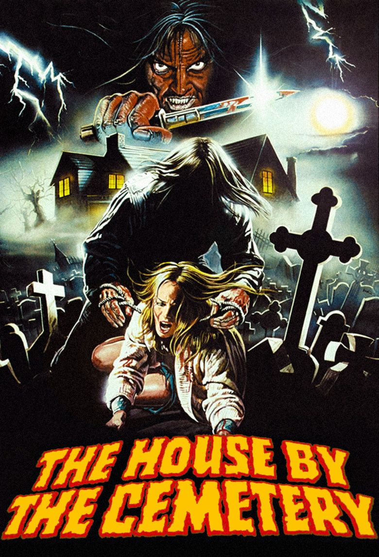 The House by the Cemetery movie poster