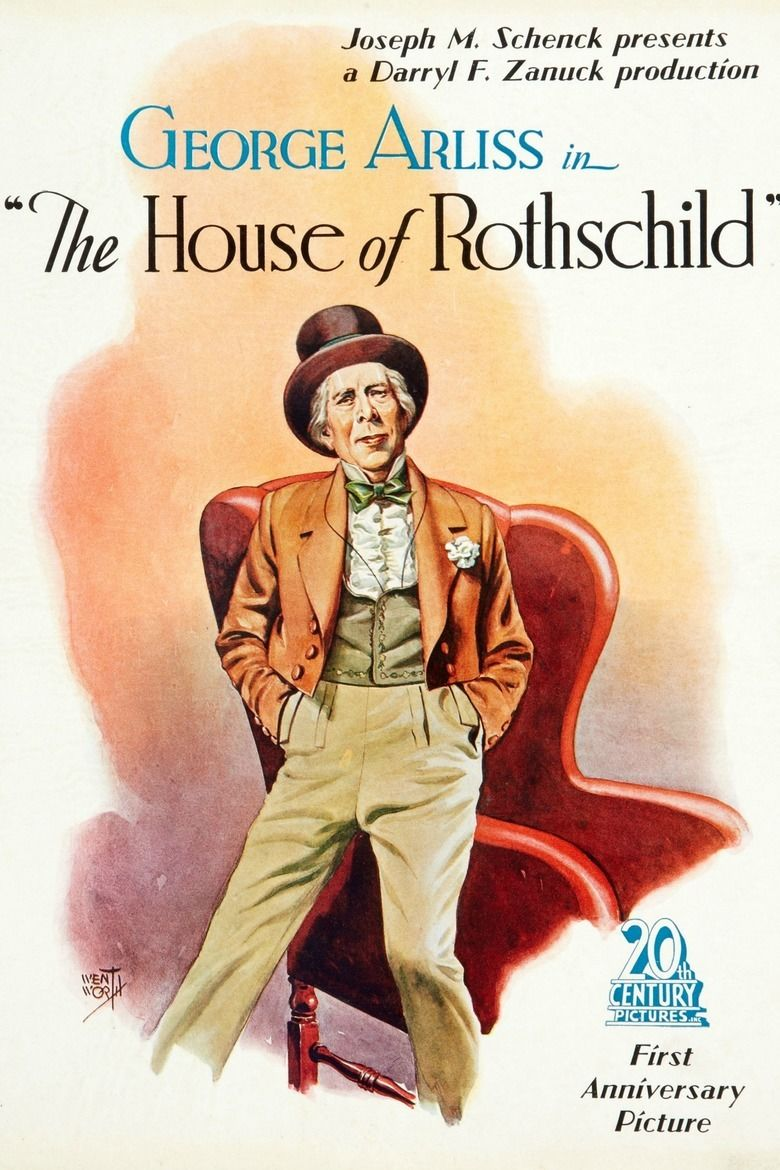 The House of Rothschild movie poster