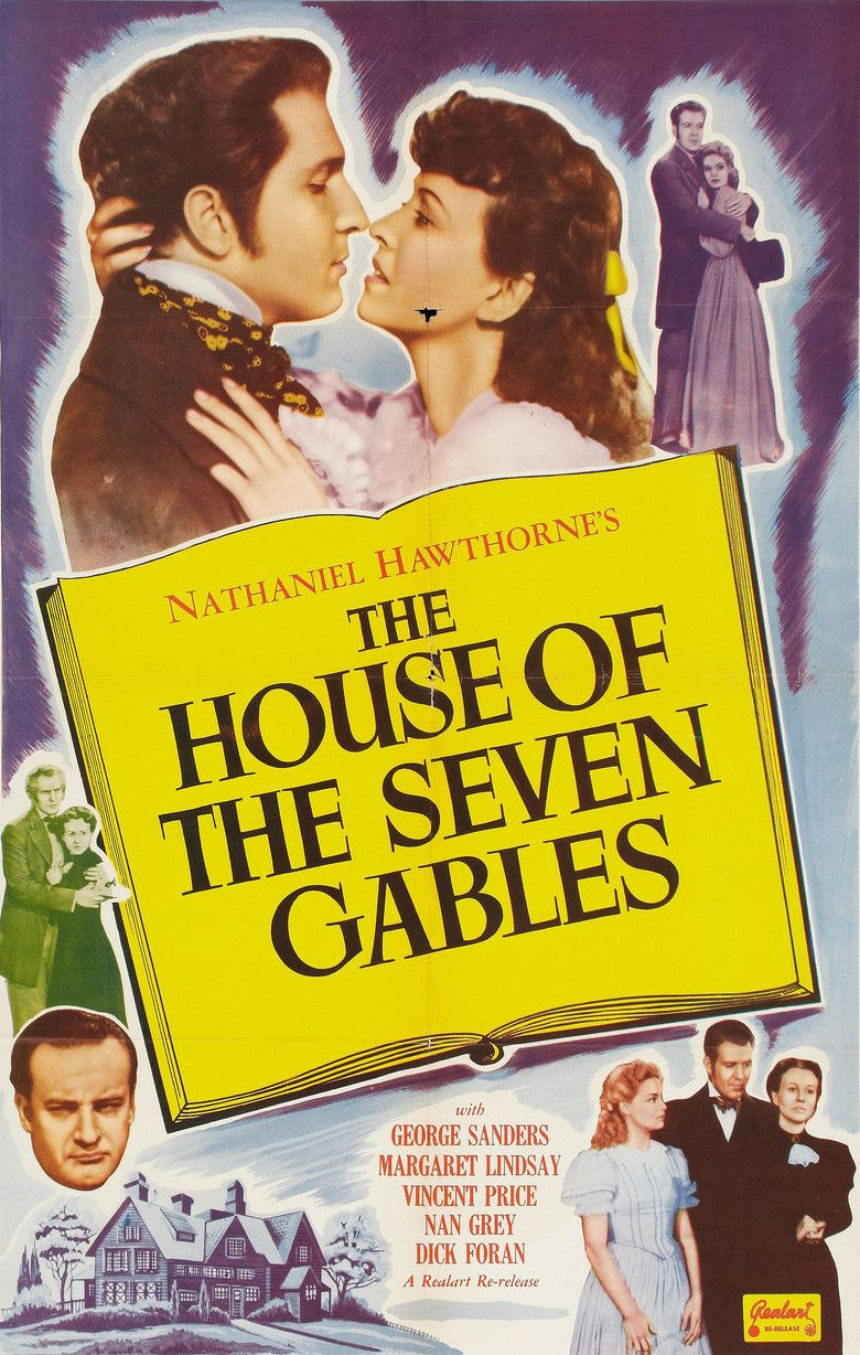 The House of the Seven Gables (film) movie poster