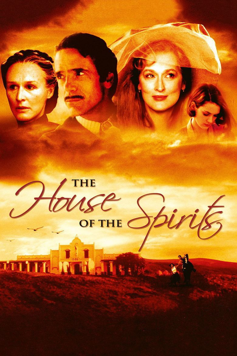 The House of the Spirits (film) movie poster