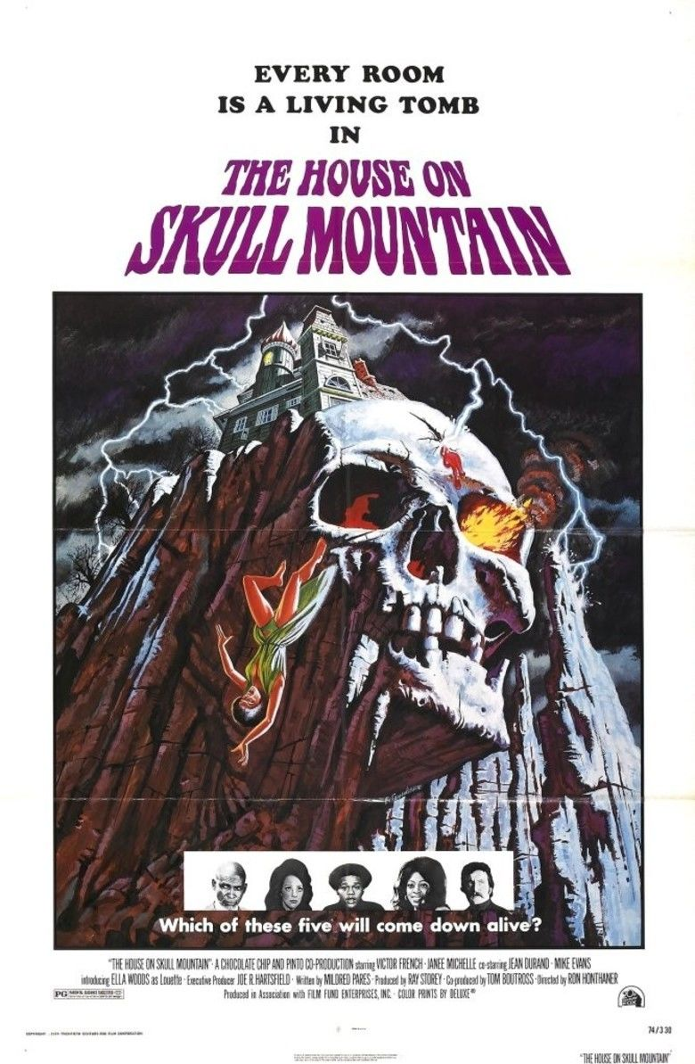 The House on Skull Mountain movie poster