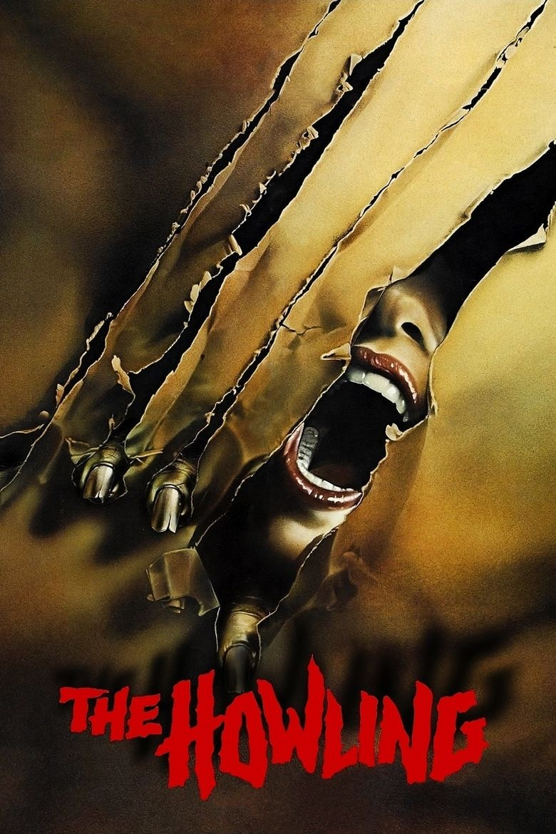 The Howling (film) movie poster